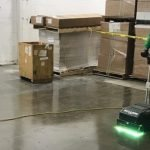Floor Polishing and UV Coating