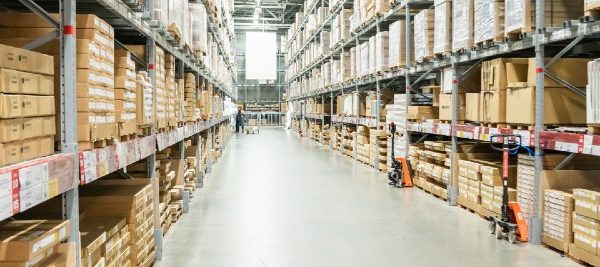 Clean warehouse ready to pass SQF certificate audit